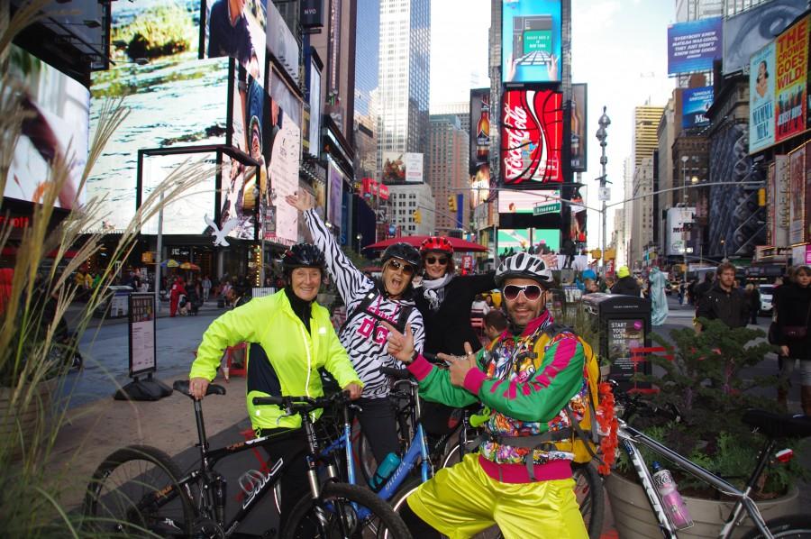 Fahrradtouren durch NYC mit Olidaytours