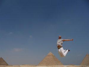 Jump the world! Jump Egypt!