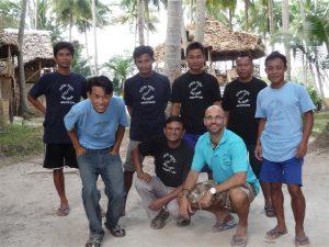 My amazing team at Ocean Pearl Dive Resort, Andaman-Nicobar Islands, India