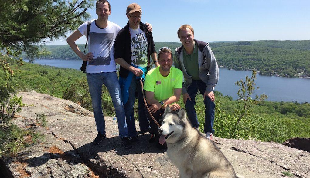 Wandern auf dem Appalachian Trail in Northern New Jersey