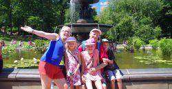 Mit Oli, Eurem private New York Guide, auf Familien Tour im Central Park