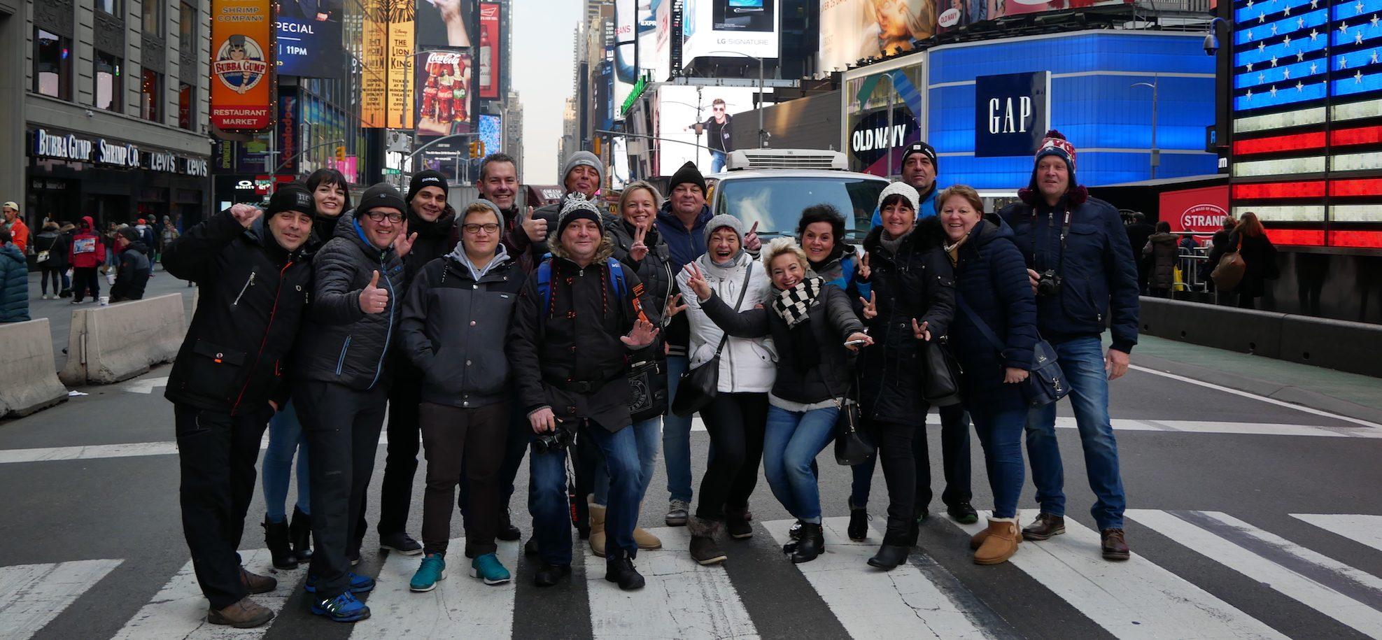 """Deutschsprachige New York City """"Gruppen-Touren"""""""