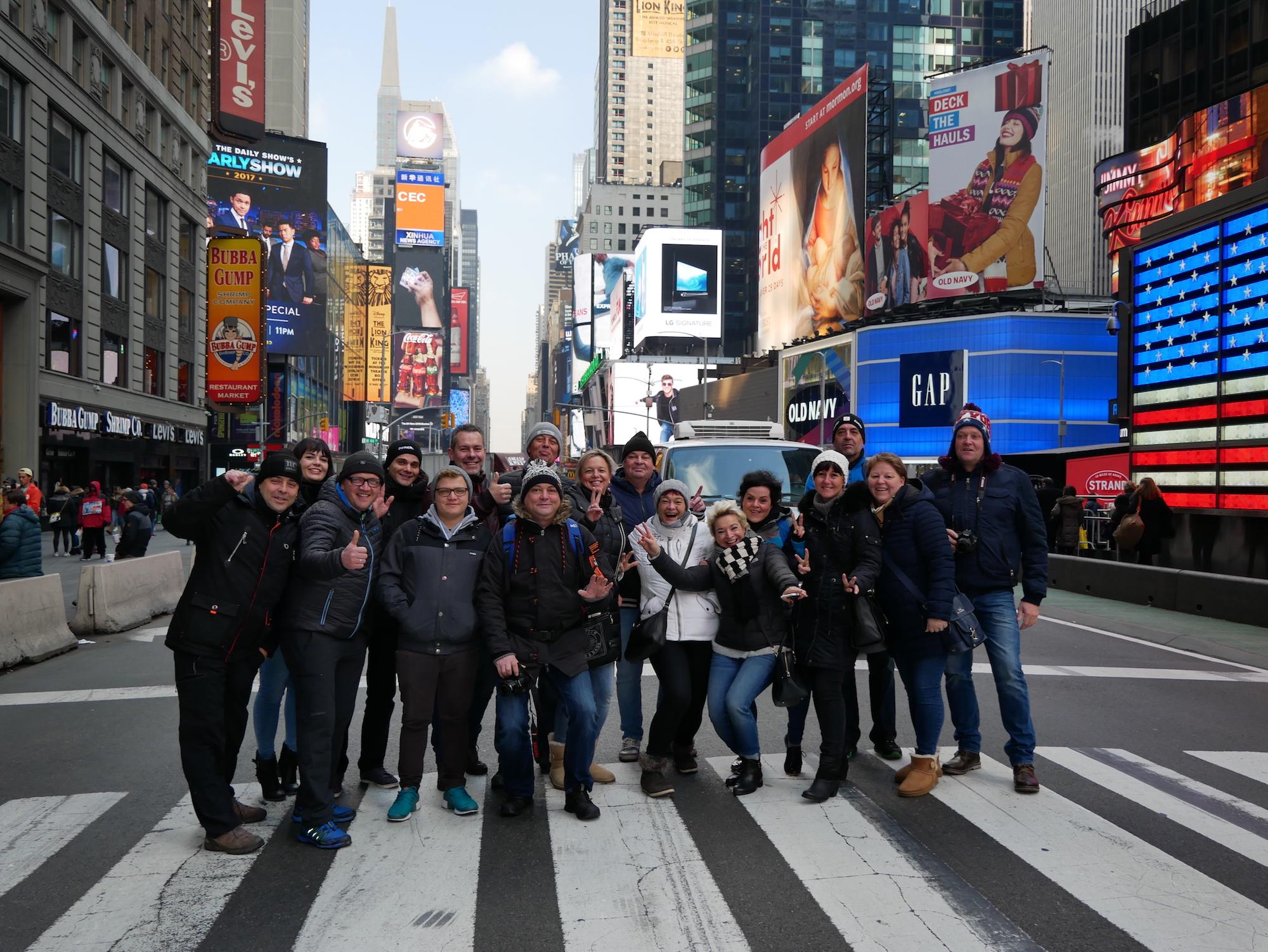 NYC Gruppen Touren- aber auf alle Faelle Olidaytours