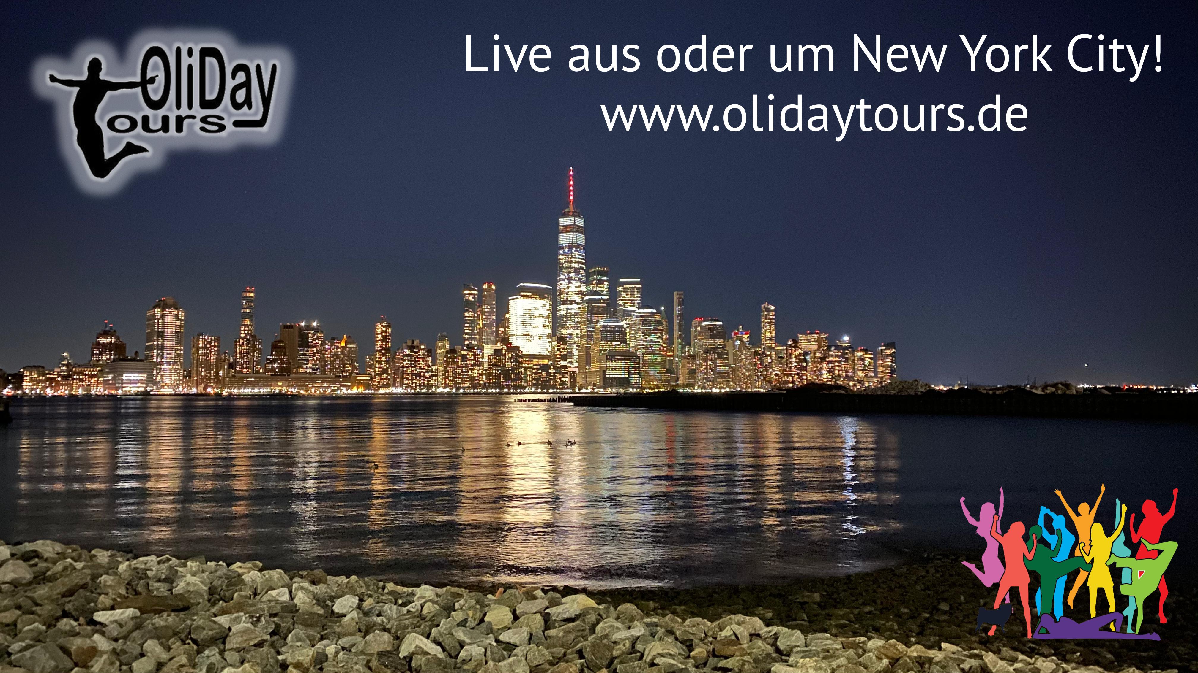 Mit OliDayTours LIVE in & um NYC unterwegs sein - alle Filme direkt hier!